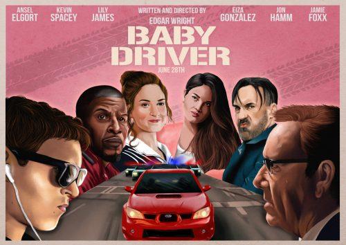 آلبوم هیجان انگیز آهنگ های فیلم بیبی راننده (Baby Driver)