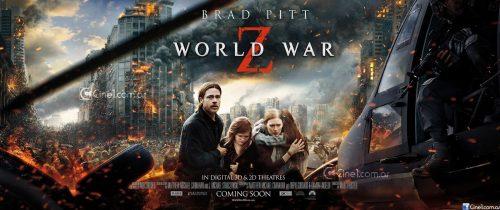 اوج هیجان و ترس با موسیقی متن فیلم World War Z (جنگ جهانی زد)